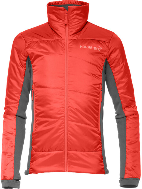 Norrøna Falketind PrimaLoft60 Lapset takki , punainen